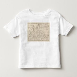 Map of the Seat of War in France 2 Toddler T-shirt