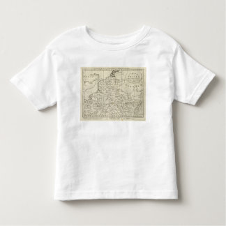 Map of the Seat of War in France Toddler T-shirt