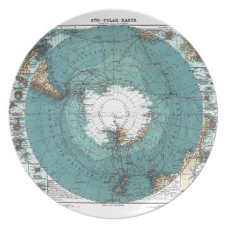 Map of the South Pole Plate