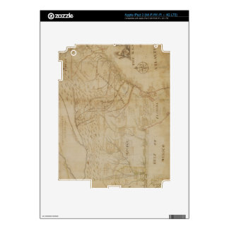 Map of the Southeastern part of North America, 172 iPad 3 Decals