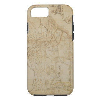 Map of the Southeastern part of North America, 172 iPhone 7 Case