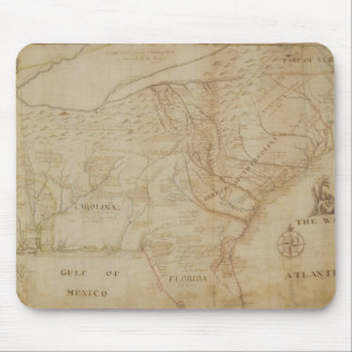Map of the Southeastern part of North America, 172 Mouse Pad