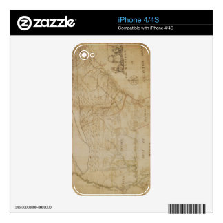 Map of the Southeastern part of North America, 172 Skins For iPhone 4
