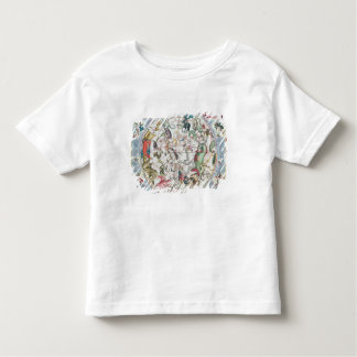 Map of the Southern Hemisphere 2 T-shirt