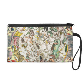 Map of the Southern Hemisphere, from 'The Celestia Wristlet