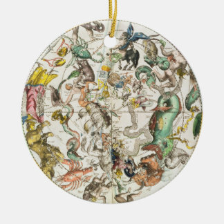 Map of the Southern Hemisphere, from 'The Celestia Christmas Tree Ornaments