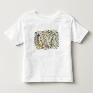 Map of the Southern Hemisphere Toddler T-shirt