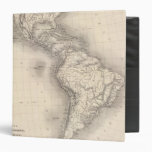 Map of the Spanish Empire in the Americas Binders