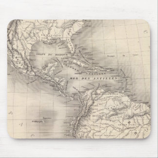 Map of the Spanish Empire in the Americas Mouse Pad
