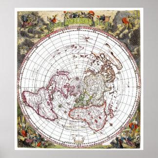 Worksheet. Flat Earth Art  Framed Artwork  Zazzle