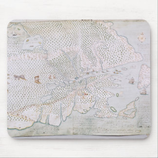 Map of the St. Lawrence Estuary 2 Mouse Pad