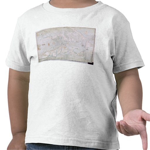Map of the St. Lawrence Estuary 2 T-shirt