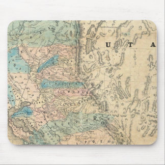 Map of the State of California Mouse Pad