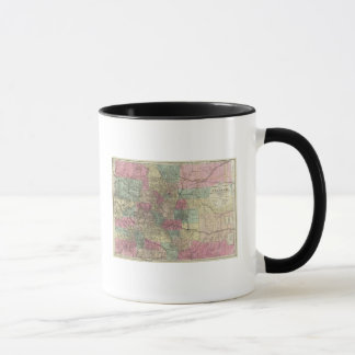 Map of the State of Colorado Mug