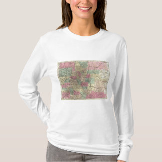 Map of the State of Colorado T-Shirt