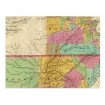 Map of the State of Missouri Postcard
