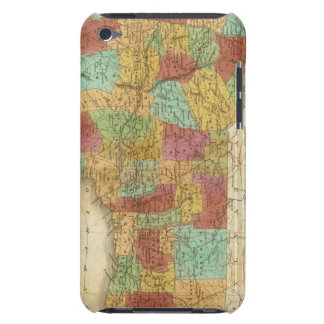 Map Of The State Of New York Barely There iPod Cases