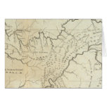 Map of The Tennassee sic Government Greeting Cards