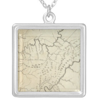 Map of The Tennassee sic Government Pendants