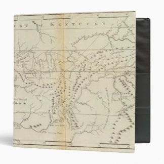 Map of The Tennessee Binders