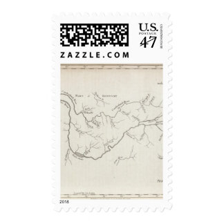 Map of the Tennessee Government Postage