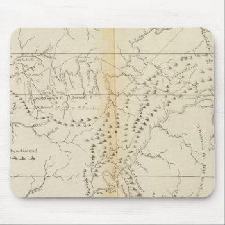 Map of The Tennessee Mouse Pad