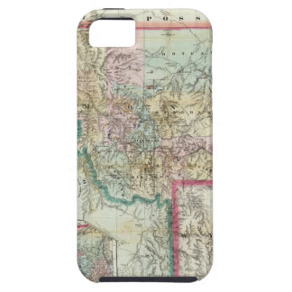 Map Of The Territory Of Montana iPhone SE/5/5s Case