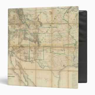 Map Of The Territory Of The United States 2 Binder