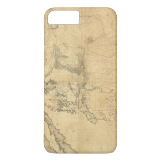 Map of The Territory of The United States iPhone 8 Plus/7 Plus Case