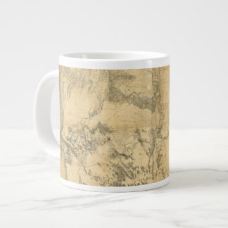 Map of The Territory of The United States Large Coffee Mug