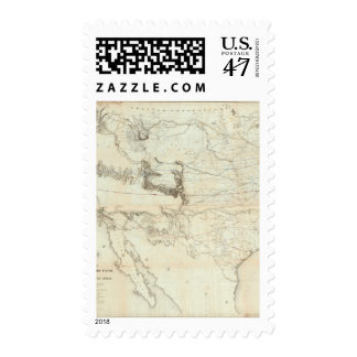 Map Of The Territory Of The United States Postage