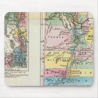 Map of the Territory of Utah Mousepads