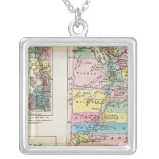 Map of the Territory of Utah Necklace