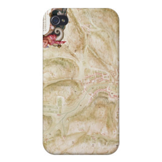 Map of the town and citadel of Bellisle iPhone 4 Cover