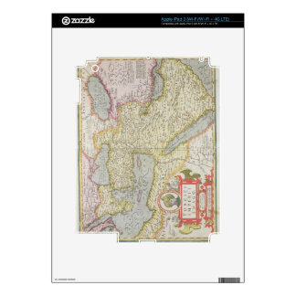 Map of the Turkish Empire, from the Mercator 'Atla Decals For iPad 3