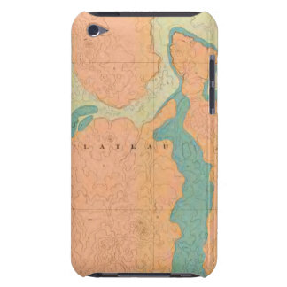 Map Of The Uinkaret Plateau iPod Touch Cases