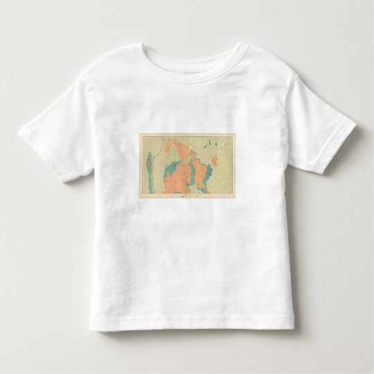 Map Of The Uinkaret Plateau Toddler T-shirt