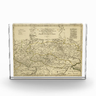 Map of the Ukraine by Guillaume Sanson (1674) Award