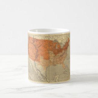 Map of the United States (1861) Coffee Mug