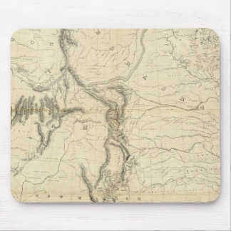 Map Of The United States 2 Mouse Pad