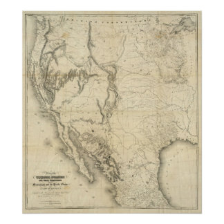 Map Of The United States 2 Posters
