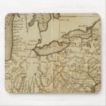 Map of the United States 3 Mouse Pad