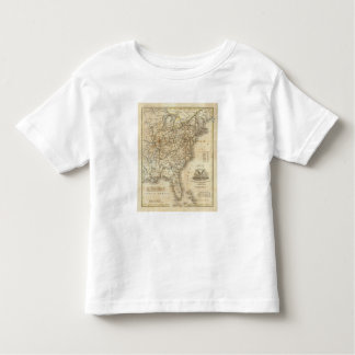 Map Of The United States 3 Toddler T-shirt