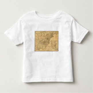 Map of the United States 4 Toddler T-shirt