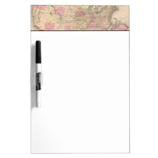 Map Dry Erase Boards Zazzle - Us map whiteboard