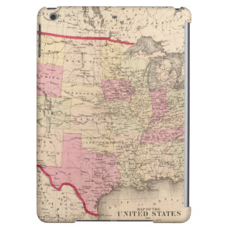 Map of the United States 5 iPad Air Cover