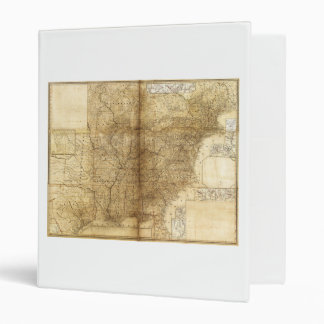 Map of the United States and Canada (1847) Vinyl Binder