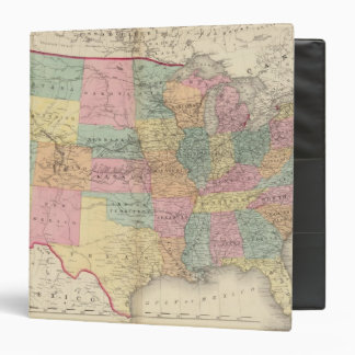 Map of the United States and Territories Vinyl Binder