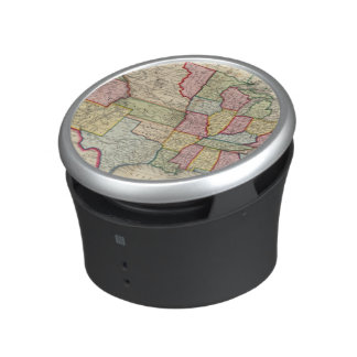 Map Of The United States, And Territories Bluetooth Speaker