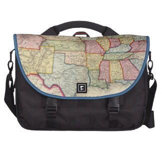 Map Of The United States, And Territories Bags For Laptop